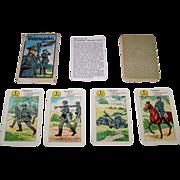"Germany ""Wehrmachts Quartett"" Card Game, Maker Unknown, c.1935-1940"