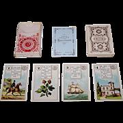 "Dondorf Lenormand No. 2 Fortune Telling Cards, ""Cartes de Bonne Aventure"" (In German, ""Wahrsagekarten No. 2""), c.1905"