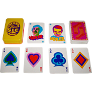 "Stemm ""Jeu Atlanta S.L.C."" Playing Cards, ""Salut les Copains,"", Yé-Yé Music, c.1968"