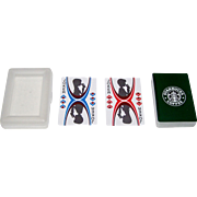"""""""Starbucks Coffee"""" Playing Cards, Maker Unknown, Each Suit Tells a Story"""