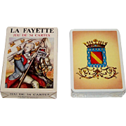 "Grimaud ""La Fayette"" Playing Cards, Patrice Louis Designs, c.1978"