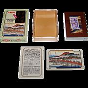"Angel ""Hiroshige"" Playing Cards, ""The 53 Stations of the Tokaido,"" Utagawa Hiroshige Artist, c.1975"