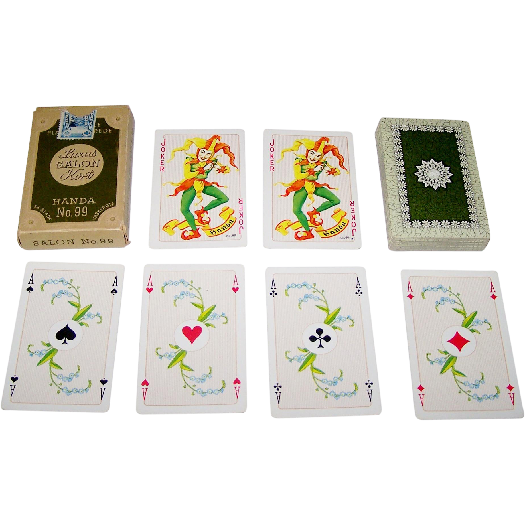 "Handa ""Luxus Salon No.99"" Playing Cards, c.1962"