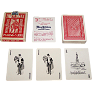 """Russell Playing Card Co. """"Broadway 288"""" Playing Cards, c.1925"""