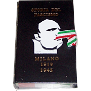 "Il Meneghello ""Storia del Fascismo"" Playing Cards, Ltd. Ed. (¬¬¬___/2,000), Fascist Suits, c.1989"