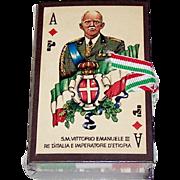 """Il Meneghello """"50° Fondazione dell 'Impero"""" Playing Cards, Ltd. Ed. (¬¬¬___/2,000),  c.1986"""