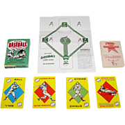 "Ed-U-Cards ""Baseball Card Game,"" c.1957"