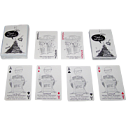 """USPC (Apollo Brand) """"Wait Wait . . . Don't Tell Me!"""" Playing Cards, NPR and WBEZ Chicago"""