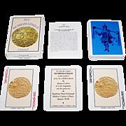 "Grimaud ""Jeu Numismatique"" Playing Cards, Bruno Collin Collaborator, c.1994"