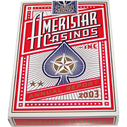 "Double Deck ""Ameristar"" Playing Cards, Limited Edition, 2003 Annual Report, Maker Unknown, 16 Various Artists Designs"
