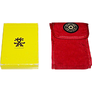 "2 Decks Non-Standard Advertising Playing Cards, $15/ea.: (i) ""Crumpler"" (Maker Unknown); and (ii) Carta Mundi ""Kipling"""