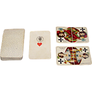 "VSSF ""Berlin Pattern"" Playing Cards, c.1880s"