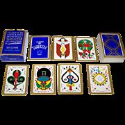 """Edizione Europrint """"Universali Tarocchi Archinstudio di Guido Bolzani"""" Tarot Cards, Guido Bolzani Designs, c.1976"""