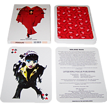 "Boom-Planeta ""Edland Man"" Oversize Playing Cards, Uitgeverij Focus Publisher, Edland Man Photographs/Designs 1994"