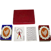 """Double Deck Brown & Bigelow """"Sophie Tucker"""" Playing Cards, c.1946"""
