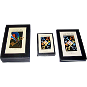"Running Press ""The Key to the Kingdom"" Transformation Playing Cards w/ Book, Tony Meeuwissen Designs, c.1992"
