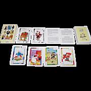 "Carta Mundi ""Multi Pass"" Playing Cards, Charcot Foundation Publisher, Various Artists Designs, c.1990"