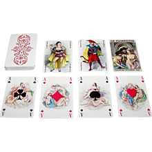 "Philibert ""Le Florentin"" Playing Cards, Becat Designs, Draeger Freres, Ltd. Edition (631/12,000), c.1955"