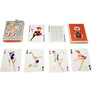 "Brown & Bigelow (Redi-Slip) ""Vargas Vanities"" (aka ""53 Vargas Girls"") Pin-Up Playing Cards, Alberto Vargas Designs, c.1953"