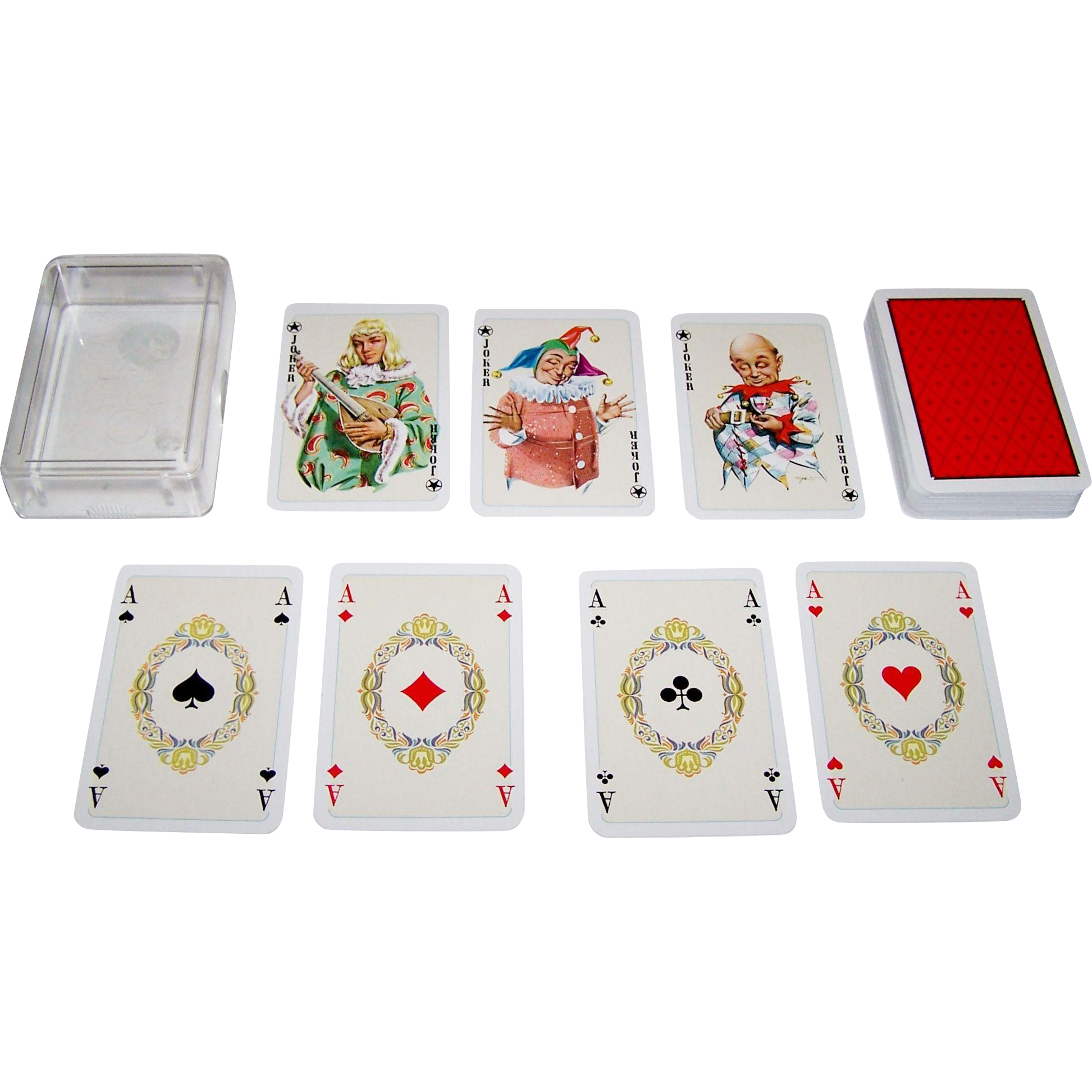 "Bielefelder ""Comtesse"" Playing Cards, c.1968"