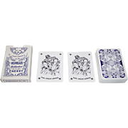 """ASS """"Holmblads Spillekort-Forretning No. 96"""" Playing Cards, Holmblad """"Pattern A,"""" S. Salomon & Co. Publisher, c.1950"""