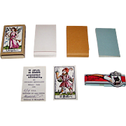"Il Meneghello ""22 Arcani Fumatori"" (""Smokers"") Major Arcana Tarot Cards, Osvaldo Menegazzi Designs, Signed Ltd. Ed. (96/2500), c. 1981"