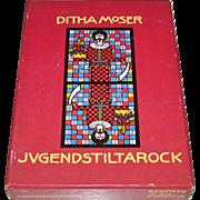 "Piatnik ""Jugendstil Tarot"" Tarock Cards, Ditha Moser Designs, c.1982"