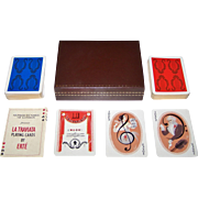 "Double Deck Carta Mundi ""La Traviata"" Playing Cards, Seven Arts for Afred Dunhill, Ltd. Publisher, Erté Designs, Limited Edition (___/5000), c.1981"