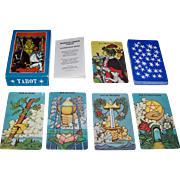 """Morgan Press """"Morgan-Greer Tarot"""" Tarot Cards, William Greer Illustrations w/ Lloyd Morgan, First Edition, 1979"""