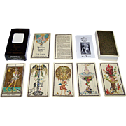 "AG Muller ""The Medieval Scapini Tarot"" Tarot Cards, Luigi Scapini Designs, c.1985"