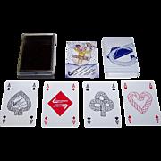 "Tai Wah Ltd. ""Clamcleats"" Playing Cards, Celia Allison Designs, c.1986"