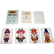 "Edizioni del Solleone ""Jeu Grotesque"" Piquet Playing Cards, Limted Edition (63/999), c.1977 [Facsimile Edition, French Deck c.1800]"