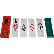 "Solleone ""Napoleone"" Playing Cards, Studio Tratto di Menegazzi Designs, c.1971"