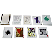 "Gemaco ""A Tribute to Nature"" Playing Cards, 54 Fort Collins Artists Designs, Trees, Water & People Publisher"