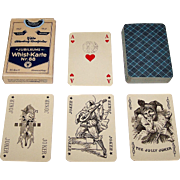 "ASS ""Jubilaums Whist-Karte Nr. 88"" Playing Cards, 100 Year Anniversary, Berlin Pattern, c.1933"