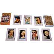 "Carta Mundi ""Screen Legends"" Playing Cards, U.S. Games Systems Publisher, c.1991"