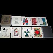 "Grimaud ""Jeu des Peintres"" Playing Cards, 19 Contemporary Artists Designs, c.1973"