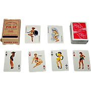 "Handa 585 ""Baby"" Miniature Pin-Up Playing Cards, c.1963"