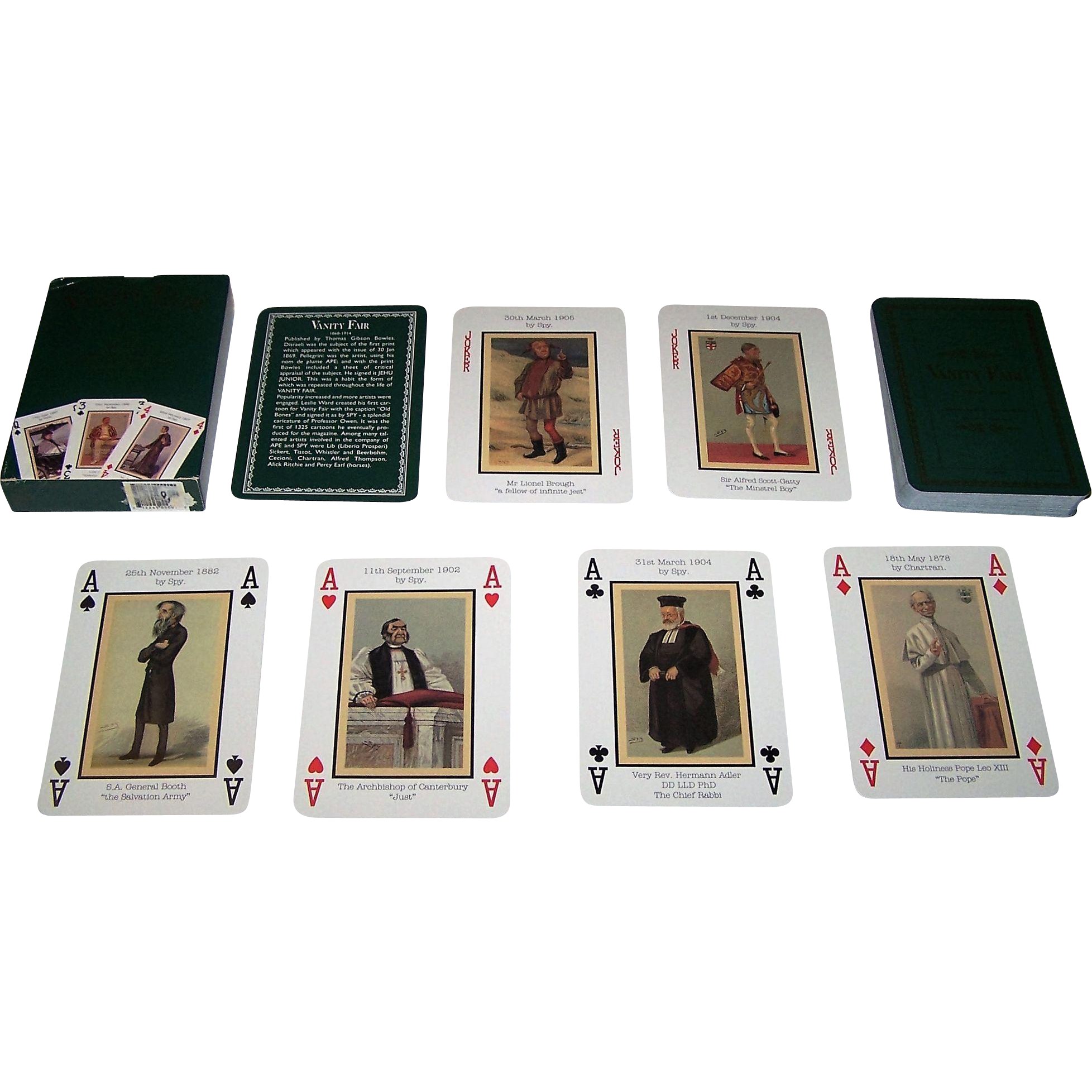 "Billy Bembo ""Vanity Fair"" Playing Cards"