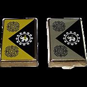 "Twin Decks USPC ""Lord Baltimore"" Playing Cards, India Theme, c.1950 ($12.50 ea.)"