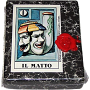 "Il Meneghello ""Tarocco del Tabacco"" Major Arcana Tarot Cards, Osvaldo Menegazzi Designs, Signed Ltd. Ed. (____/1500), c. 1980"