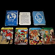 """Il Meneghello """"Pinocchio"""" Quartet Card Game, Beppo Gar Designs"""