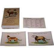 """Animalosities"" Card Game, Dennis ""Dainty Series"" G675, c.1930"