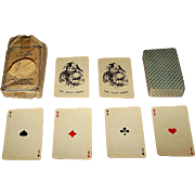 "J. Muller & Cie ""Patience No. 140"" Playing Cards w/ Wrapper, Berlin Pattern, c.1950s (?)"