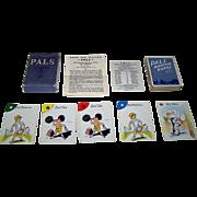 "Walter H. Schaefer ""Pals Kartoon Kards"" Card Game, c.1939"