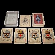 """Speelkaarten Fabriek Nederland """"Maritime"""" Playing Cards, c.1938"""