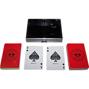 "Double Deck Gemaco ""Rolls Royce Owners Club"" Pinochle Playing Cards"
