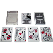 "ASS ""Mercedes"" Skat Playing Cards, Monika Dostler Designs, c.1988"