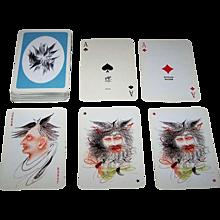 "Piatnik ""Anton Lehmden"" Playing Cards, Edition Hilger, Anton Lehmden Designs, c.1981"