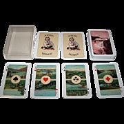 "ASS ""Islensk l'Hombre Spil No.1"" aka ""Mugg's Cards,"" Bjarni P. Magnusson Publisher, Gudmundur Thorstensson Designs, c.1977"